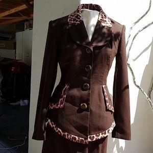 Alberto Makali 2 piece jacket and skirt